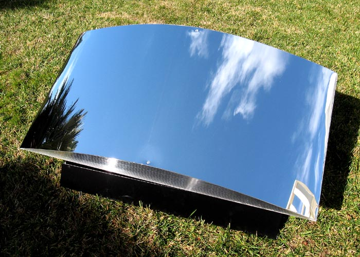 New 2x4' ClearDome SolaReflex 95.5% AA light, heat, and solar energy reflector panel