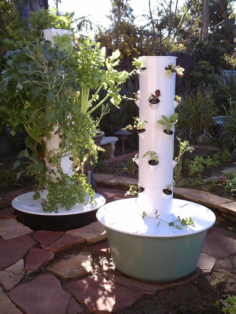 Become an Aeroponic Tower Gardener with the Amazing Tower Garden