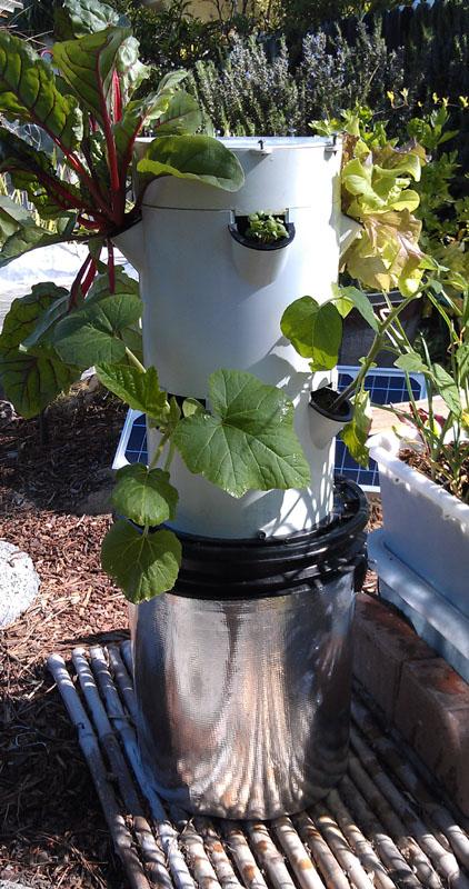 Tower Garden Season Extenders Solar Pumps Edible