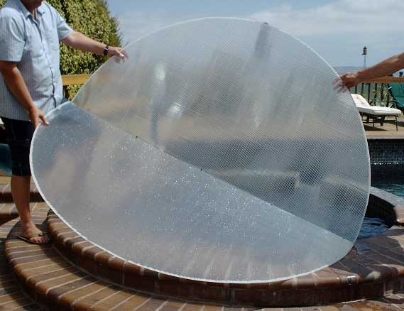 Cleardome Solar Spa Water Heating Film For Hot Tubs Pools